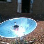 Sonnenkocher zur Zubereitung von Mahlzeiten - August 2014