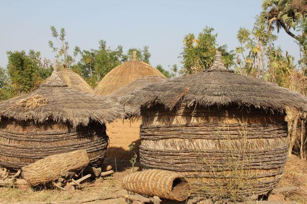 Schilflagerstätte in Dori, Nigeria - Juni 2014