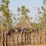 Dorfansicht von Dori mit Einhausung - Juni 2014