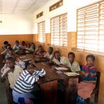 Aufnahme aus dem Schulbetrieb in Sirokoro Dounfing - Juni 2014